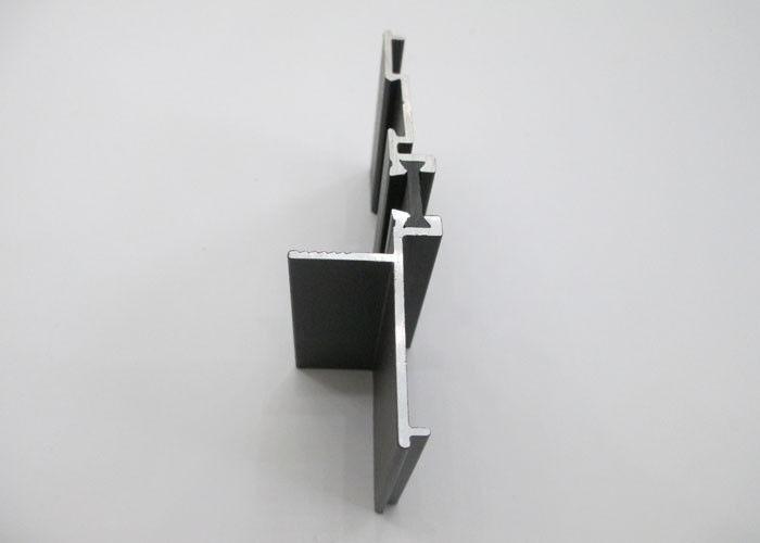 Black Bifold Doors / Window aluminium door frame extrusions Sand ...