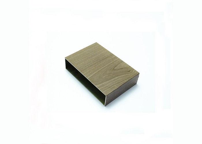 Powder coated aluminum square tubing aluminium hollow