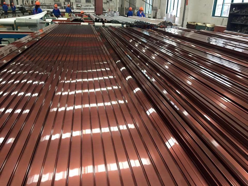 Electrophoresis Finishing Aluminum Door Frames For
