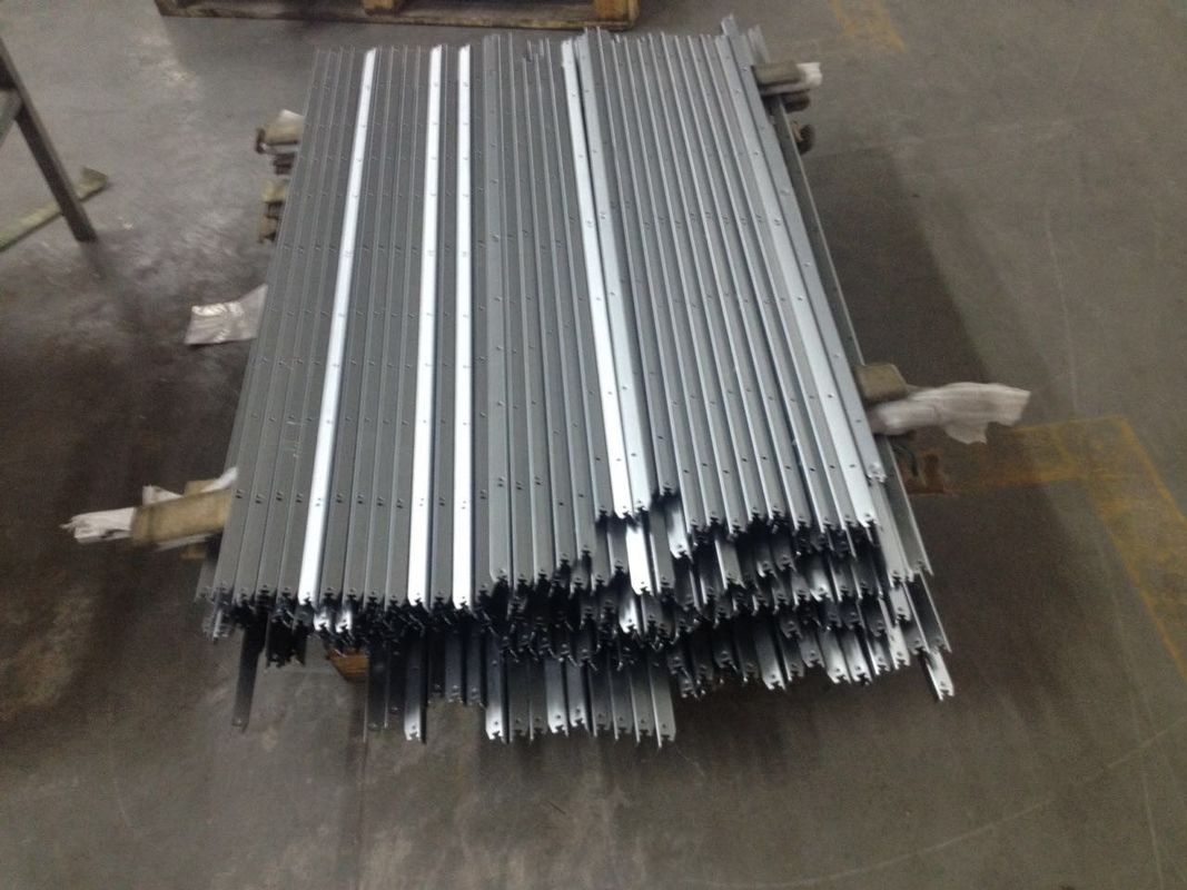 Stainless Steel Color Anodized Aluminium Extrusion Profiles for TV Frame