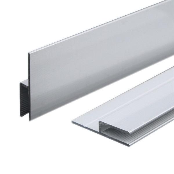 Silver Anodizing AA10um Matt Anodized Aluminium LED Profiles ...