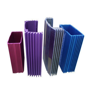 T5 Aluminium Window Extrusions Profiles Anodized With Any Color Power Coating