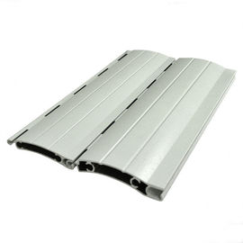 Thermal Break Rolling Shutter Aluminum door extrusions For Automatic Roller Garage