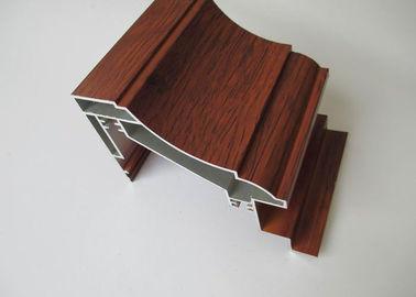 China Wood Grain Aluminium Window Profiles distributor