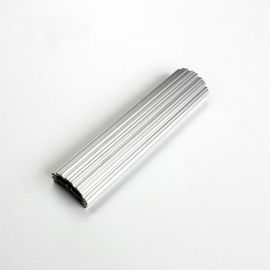 China Light Weight Oxidation Silver Color Aluminium LED Profiles with Heat Sink Function distributor