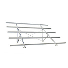 China 6 Series Aluminum Frames For Pv Solar Module / Aluminum Solar Panel Frame distributor