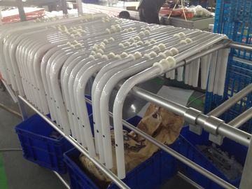China Aksu Powder Coating CNC Bending Tubes with Holes for Aluminum Alloy Stair Chair distributor