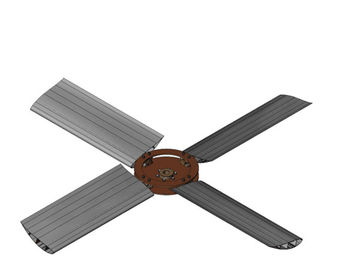 China Assembly Parts of Aluminum Extrusion Profile Use for Electric Fan and Air Fan distributor