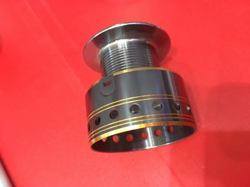 China Fashion Custom Cold Forging CNC Machining Parts with Gold Silver Anodized distributor