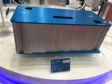 China CNC Deep Processing Aluminium Enclosures with Blue Anodize Color distributor