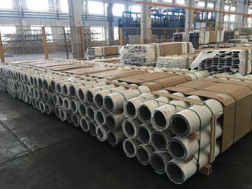 China Big Size Round Type Aluminum Heat Sink Tube Aluminum Radiator Profile distributor