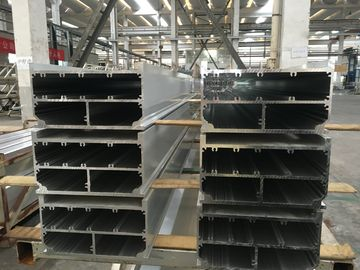 China Mill Finished 6005 T6 Aluminium Extrusion Profiles 300mm Width factory