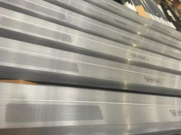 China Wire - draw CNC Machining Aluminium Extrusion Profiles for Sound Equipment factory