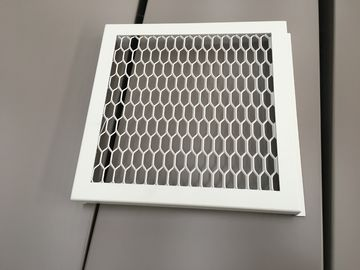China RAL 9016 White Color PVDF Coating Punching Wave Aluminum Panel Tolerance +/- 0.01 -- 0.05mm distributor