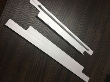 China 6061 T6 Aluminium Extrusion Profiles CNC Milling Matt Silver Anodized For Solar Bracket factory