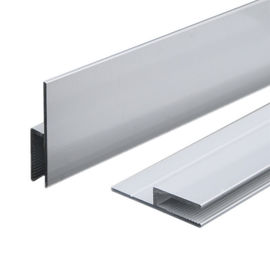 China Silver Anodizing AA10um Matt Anodized Aluminium LED Profiles Advertising Light Box Frame distributor