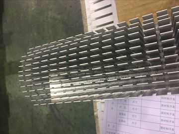 China 2 Meters Five Axis CNC Milling Aluminum Heat Sink Profiles for Colling System distributor