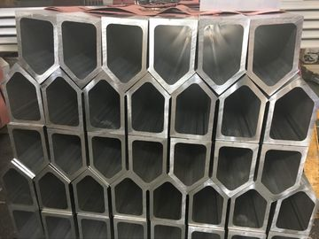China 6061 T6 Polygon Tube Aluminium Frame Profile , Aluminum Extruded Shapes factory