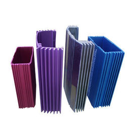 China T5 Aluminium Window Extrusions Profiles Anodized With Any Color Power Coating distributor