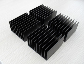 China Powder Coating Anodizing Aluminium Heat Sink Profiles Colourful High Efficiency Enclosure distributor