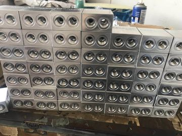 China Aluminum Pneumatic Cylinder Cnc Machining Parts For Hydraulic Cylinder And Power Unit factory