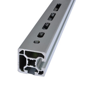 China Modular Assembly System 4040  T Slot Aluminum Extrusion V Slot Industrial Aluminium Profiles factory