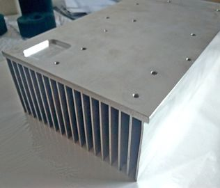 China 6061 T6 Rectangular Aluminum Heat Sink Extrusion For CNC Equipment Use distributor