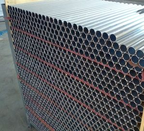 China Silver Anodize Custom Aluminium Extrusion Round Tube For Aluminum Fence distributor