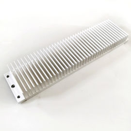 China Aluminium Rectangle Radiator Extrusion Heat Sink Profile Industrial Use For Led factory