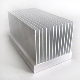 China 55mm Width Aa6063 Aluminium Extrusion Profiles Radiator , Extruded Aluminum Heatsink factory