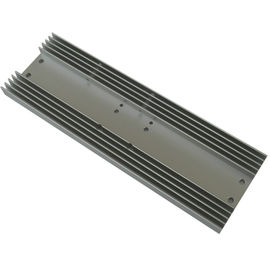 China Rectangle Radiator Aluminium Heat Sink Profiles For Consumer Electronics factory