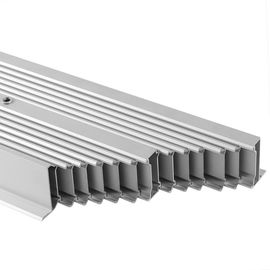 China Repand Aluminium Heat Sink Profiles Heating Cooling Radiator System For Electronics distributor