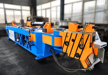 China Cnc Deformed Heavy Duty Pipe Bending Machine For Ms Square Steel Tube distributor