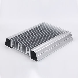 China Flat Shape Aluminum Heatsink Extrusion Profiles Heat Dissipation OEM Design distributor