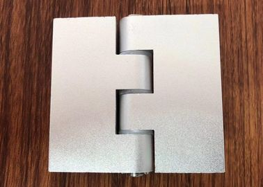 China 180 Degree Aluminium Industrial Profile Silver Anodizzed Hinge Door Accessories distributor