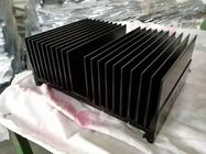 CNC Machining Extruded Heat Sink Akzo Nobel Powder Painting for Truck Lamp