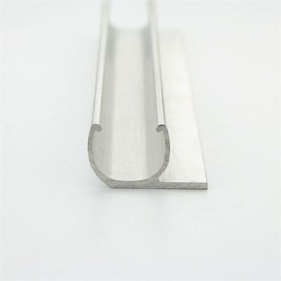 Affordable Custom Aluminum Extrusion Fabrication Tube / Pipe In Silver Color